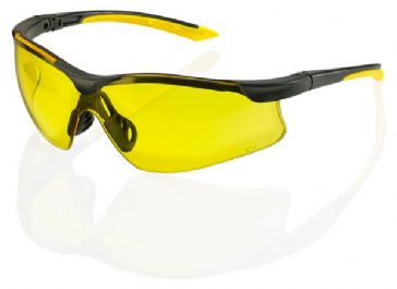 B-Brand Yale Safety Spectacles (Yellow)